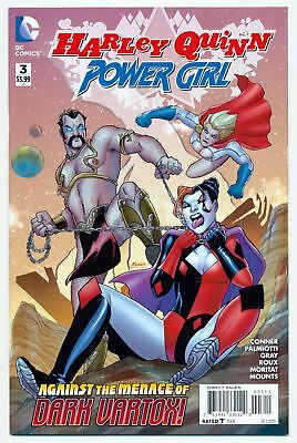 Harley Quinn and Power Girl (2015 Series) # 3 - Oct 2015   9.4 NM