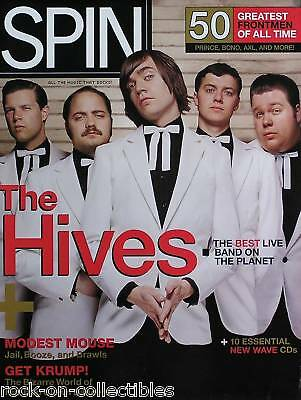 The Hives 2004 Spin Magazine Cover Poster