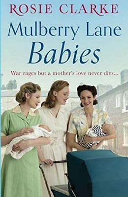 Mulberry Lane Babies by Rosie Clarke New Paperback Book