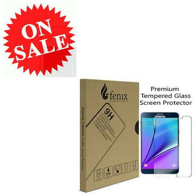 Glass Screen Protector For Samsung Galaxy Note 5 Clear Fenix 0.26mm Screen Guard
