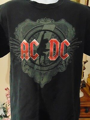 AC/DC  Black Ice North American Tour 2008/2009 T-Shirt Large