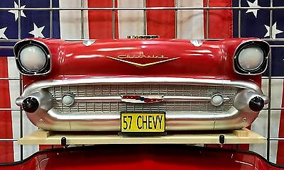 1957 Chevrolet Bel Air Wall Mounted Bluetooth Speaker, Red