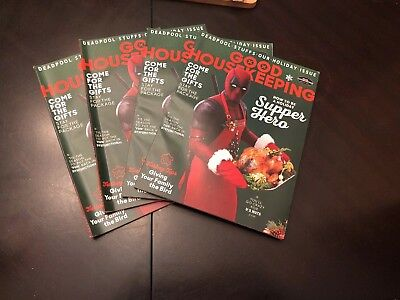 Deadpool 2 Good Housekeeping Magazine Movie Variant December 2017 Issue Cable