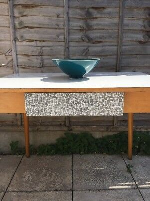 Vintage Kitchen Table 'Jitona' Made in Czechoslovakia Mid Century Formica Table