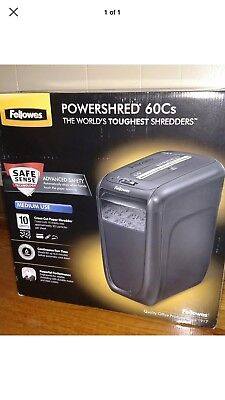 Powershred 60Cs Cuts Paper, Excitement 👌👍