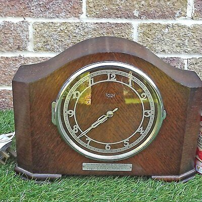 Smiths Electric Clock 1936 Westminster Chimes Model 259 - Working But TLC Needed