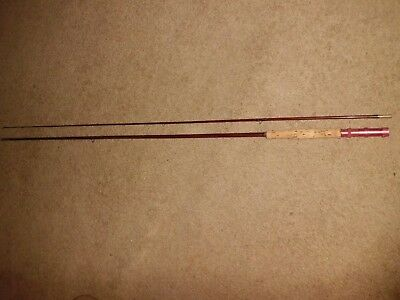 "Vintage Phillipson S86 HCH Fiberglass 8'-6"" Fly Rod made in USA"