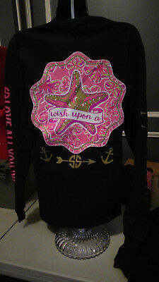 Simply Southern Long Sleeve T-Shirt: Wish Upon A Star - Navy