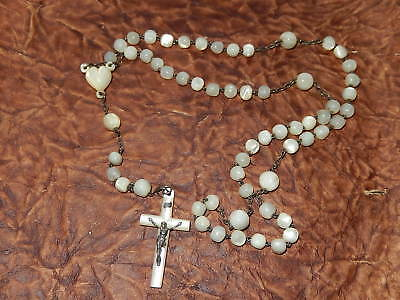 Chapelet Perles    Nacre Mother Of Pearl Beads