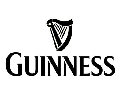 """Guinness Beer 11"""" x 8.5"""" Custom Stencil FAST FREE SHIPPING"""