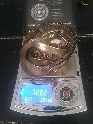 72 grams of sterling 925 scrap jewelry shipped USPs next day