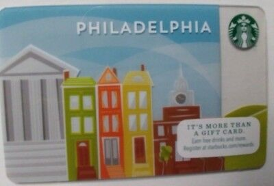 Starbucks GIFT CARD 2014 PHILADELPHIA RARE ISSUE, SERIES 6099                (X)