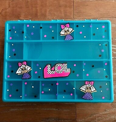 SET OF 2 ****LOL Storage,Personalized container for LOL SURPRISE DOLLS,