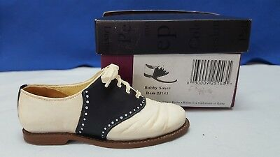 """Just the Right Shoe """"Bobby Soxer"""" Shoe by Rhaine #25092 With Original Box"""