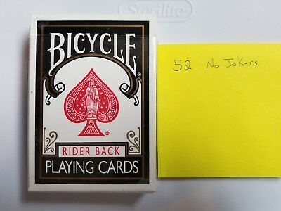2005 Rare Ohio-Made Bicycle 808 BLACK Rider Back Playing Cards One Deck