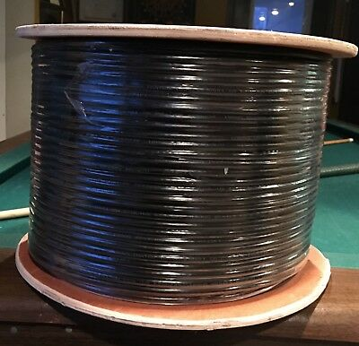 Consolidated RG-6/U 18 AWG Quad Shield Coax Cable 1000 ft