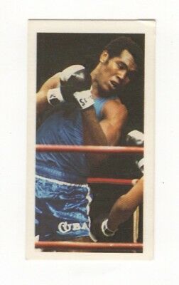 Olympic Games Boxing Card 1979. Teofilo Stevenson, Cuba