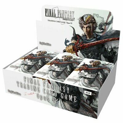 PREORDER Final Fantasy Trading Card Game Opus VI Booster Box