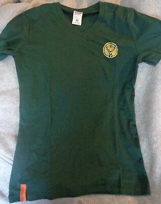 Jagermeister Ladies Promo Shirt - Dark Green - Ladies Medium - NEW