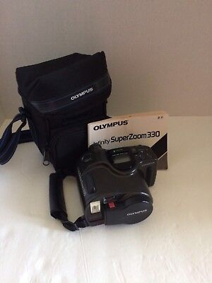 Olympus Infinity Super Zoom 330, With Carrying Case And Instruction Manual