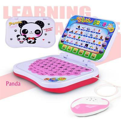 Baby Kids Pre School Educational Learning Study Toy PC Computer Laptop Game Fun