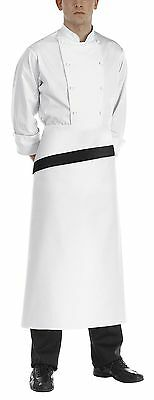 Flap Diagonal Chef Cook 90x100 cm Egochef Made in Italy Apron Waiter Waiter