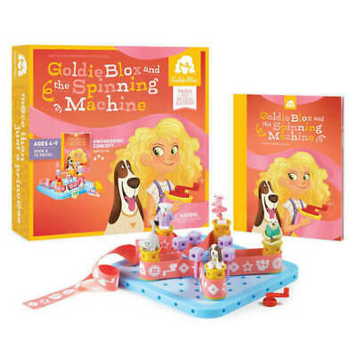 GoldieBlox & The Spinning Machine Building Game