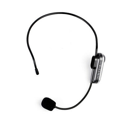 Portable Head-mounted Wireless Bluetooth Microphone With FM Transmission
