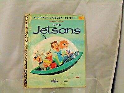 Hanna-Barbera's The Jetsons : A LITTLE Golden Book (1962 Hardcover)