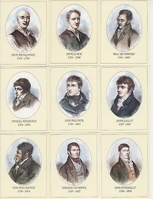 Boxing Cards -Heroes of the Prize Ring - FULL SET of 24