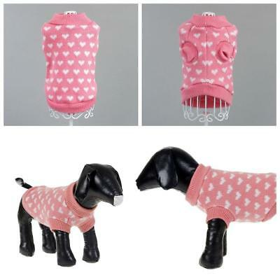 Dog Pet Cat Sweater Puppy Knit Jacket Clothes Apparel For Small Medium_Dog