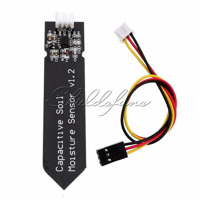 Analog Capacitive Soil Moisture Sensor V1.2 Corrosion Resistant With Cable NEW