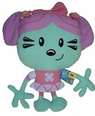"Wow! Wow! Wubbzy Daisy 25"" Soft Plush Cuddle Pillow New"