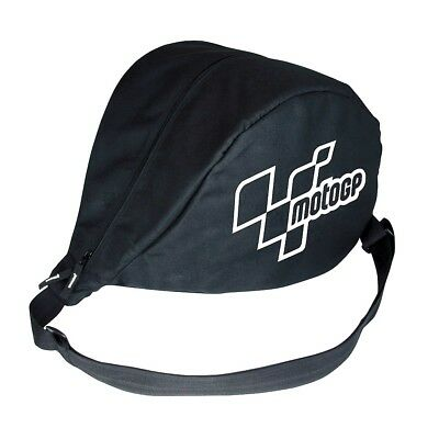 MotoGP Moto GP Black Messenger Scooter Motorcycle Helmet Bag - MGPHEL08
