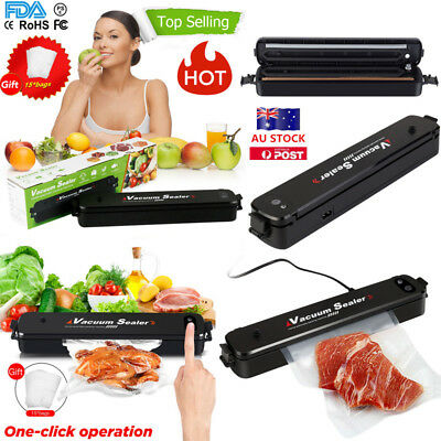 AU Vacuum Sealing Sealer System Packing Machine Household Food Storage Cryovac