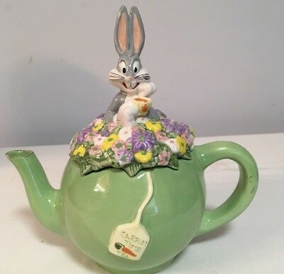 Bugs Bunny Teapot/Warners Bros. Vintage 1998     A1