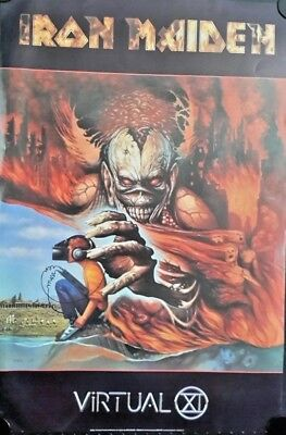 FREE INT.SHIPPING Vintage Poster 2004 Iron Maiden-The Early Days