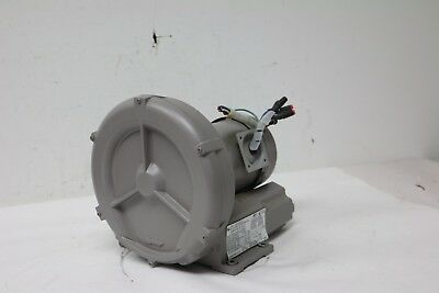 Fuji Electric Regenerative Blower 115/230V 5A,0.25HP 1-¼ in (F) NPT Inlet/Outlet