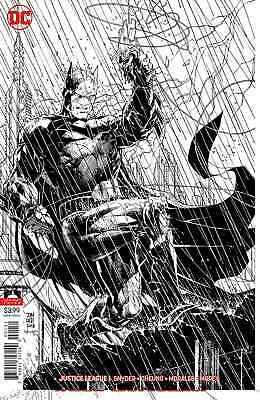 Justice League 1 Jim Lee Inks Only Variant 2018 Nm