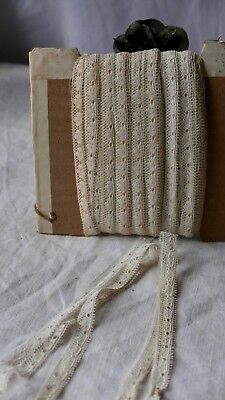 Antique Lace Narrow Lace Trim Dolls & Vintage Wedding Something Old 3m Old Stock