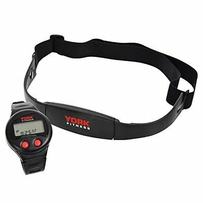 York Fitness Black Heart Rate Monitor