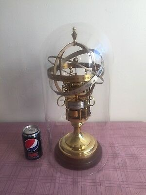 Large Size Vintage Orrery Clock By St James House Co. C1980