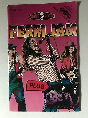 Pearl Jam Soundgarden Hard Rock Comics Comic Book 1993 2nd Print HARD TO FIND