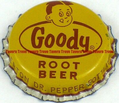 1950s Minnesota FAIRFAX Fullerton Dr Pepper GOODY ROOT BEER Cork Crown
