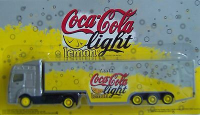Coca Cola - Light Lemon / truck Mercedes Actros with trailer, Scale 1:87/HO