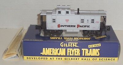 American Flyer S-Gauge 990 Southern Pacific Illuminated Caboose 6-48714 Nib