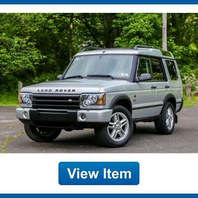 Land Rover Discovery SE7 Low 89K Fully Serviced 3rd Row CARFAX