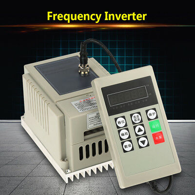 220V 0.75KW 4A Single Phase Variable Speed Motor Drive VFD Frequency Inverter