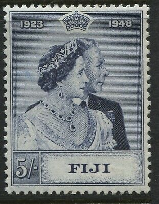 Fiji KGVI 1948 Silver Wedding 5/ mint o.g.