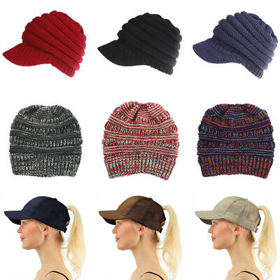 Summer Glitter Adjustable Mesh Trucker Ponytail Baseball Cap For Women Girls Hat